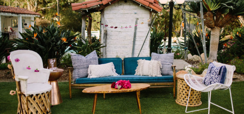 Trending: Wedding Lounge Furniture