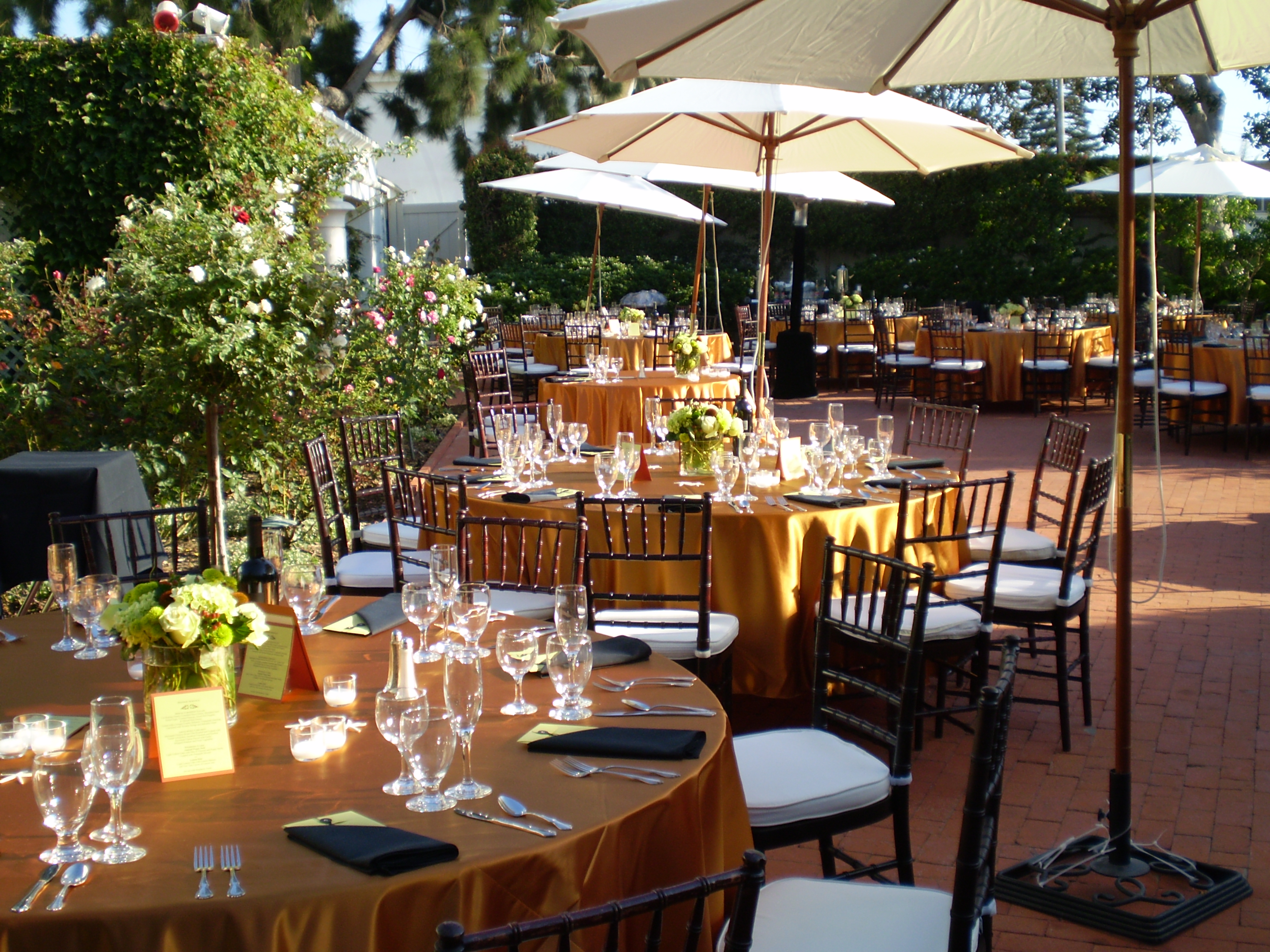 Chiavari Catering in San Diego Personal Touch Dining