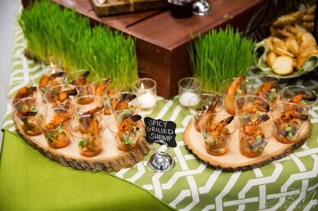 creative San Diego wedding catering